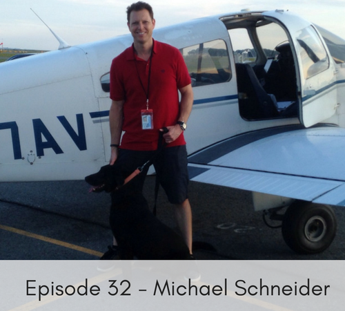 Episode 32 – Michael Schneider, Pilots to the Rescue