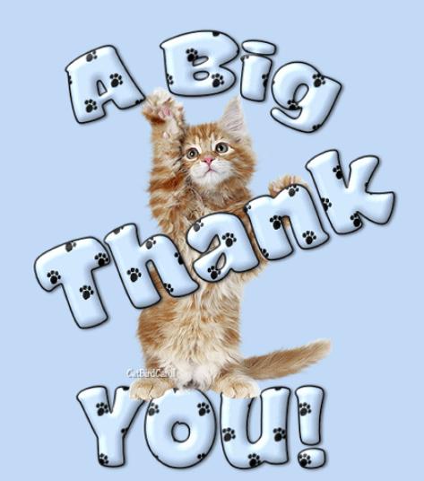 animal thank you