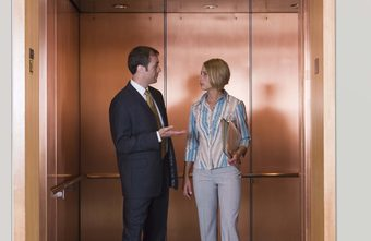 National talk in an elevator day – Face forward.  Look up.  No talking.