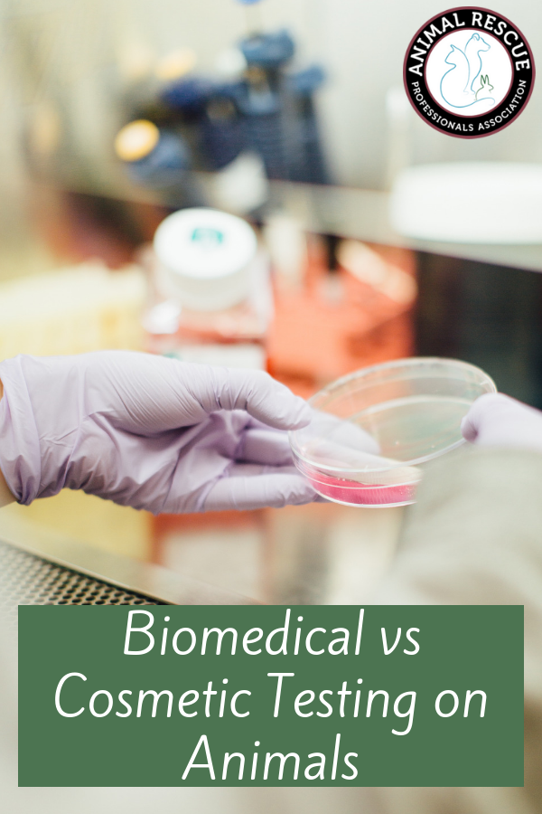 Biomedical vs Cosmetic Testing