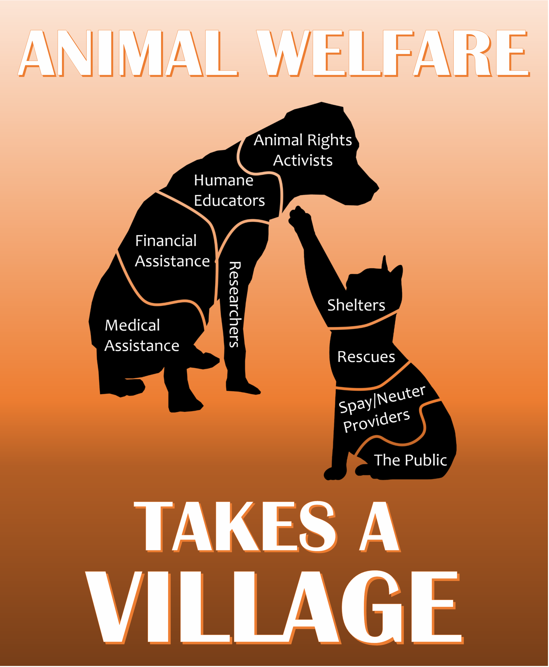Animal welfare takes a village, One Voice Day