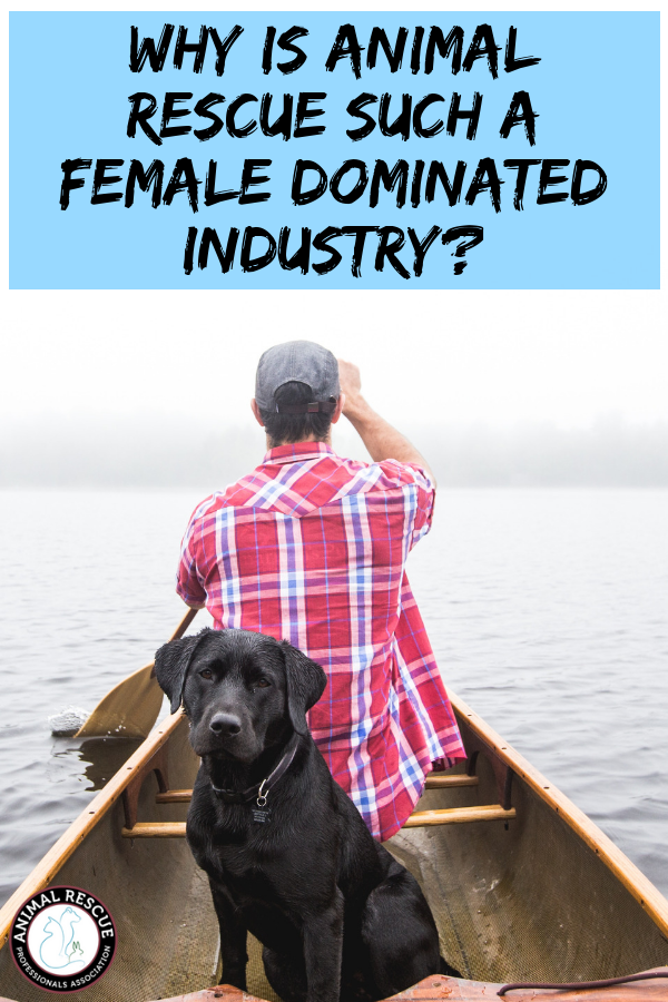 Animal rescue is a female dominated industry