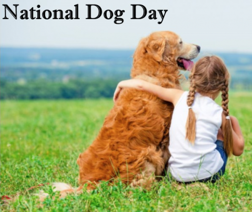 Woof woof.  It's MY day – National Dog Day