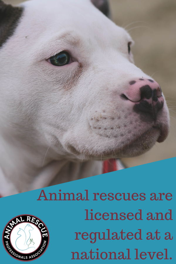 Rescues licensed and regulated at national level