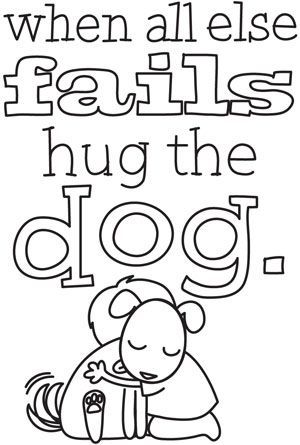 hug your dog