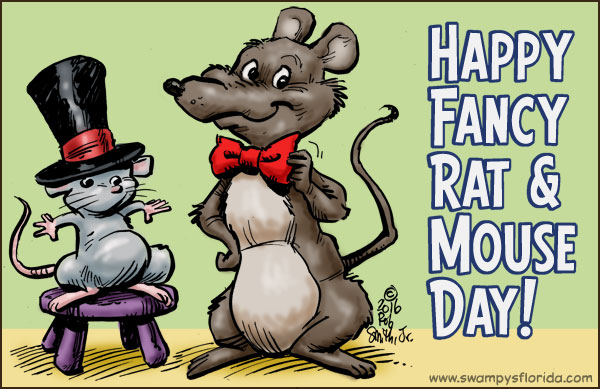 November 12 – Fancy Rat and Mouse Day