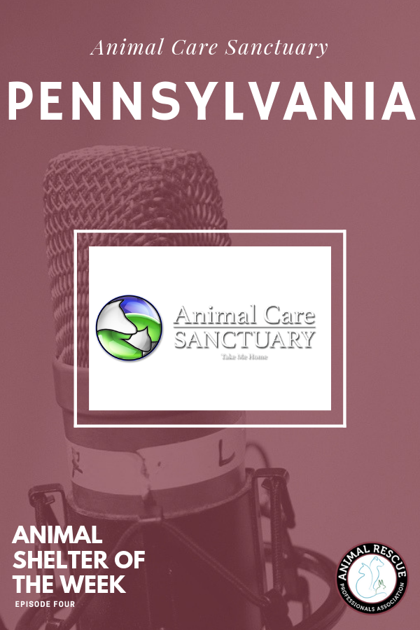 4. Animal Care Sanctuary_PA_Animal Shelter of the Week