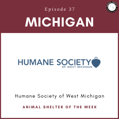 Animal Shelter of the Week: Episode 37 – Humane Society of West Michigan