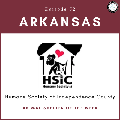 Animal Shelter of the Week: Episode 52 – Humane Society of Independence County
