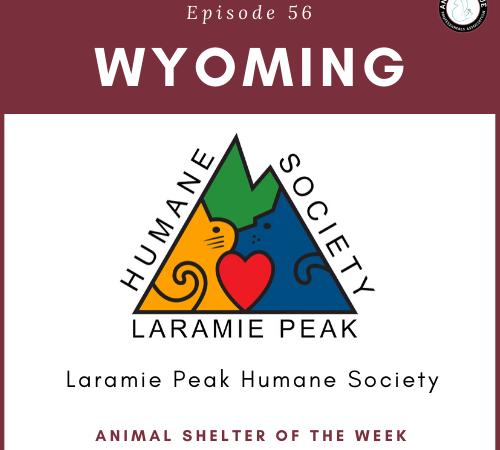 Animal Shelter of the Week: Episode 56 – Laramie Peak Humane Society